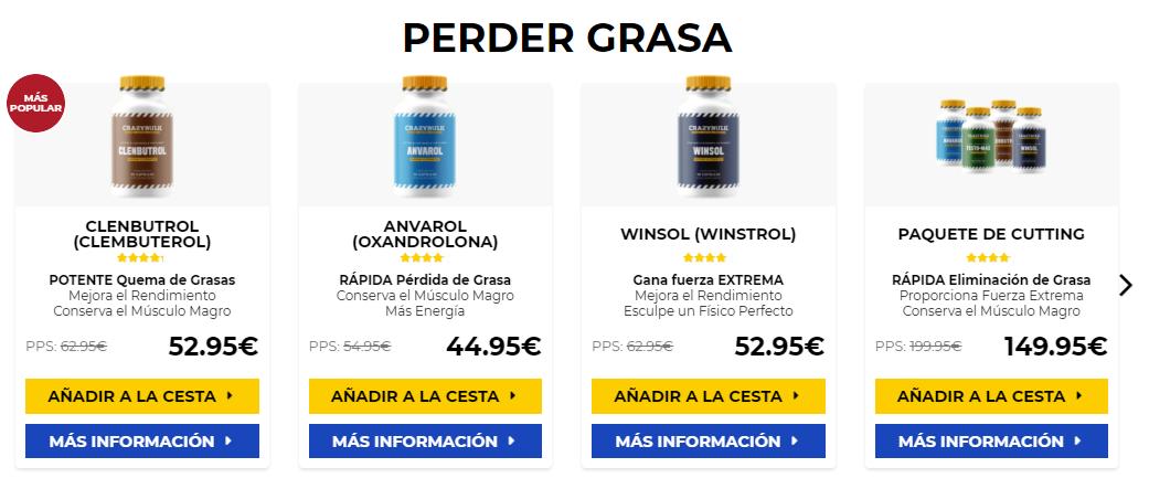 comprar esteroides para mujeres Androx