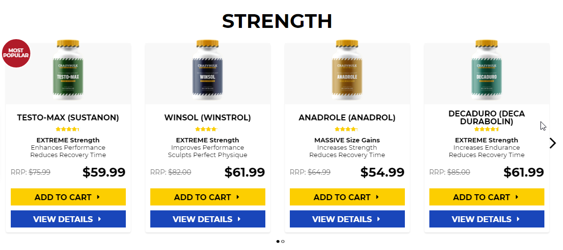 Anabolic steroids and weight gain